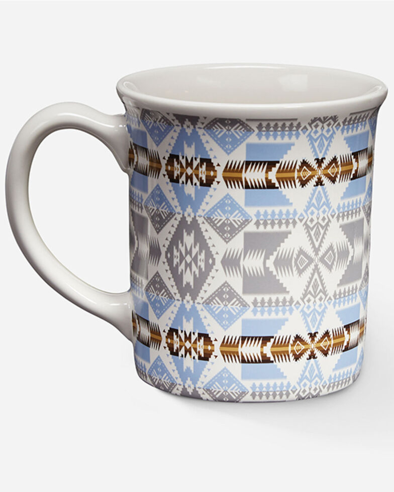 Pendleton Tuscan Coffee Mug, Silver, hi-res