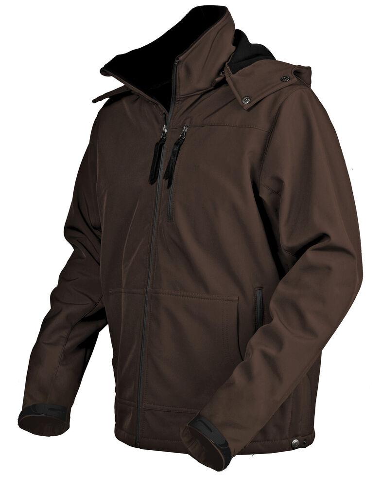 STS Ranchwear Men's Brown Barrier Jacket - Big , Brown, hi-res