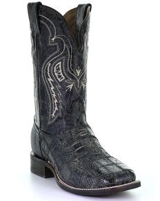 Corral Men's Black Fuscus Western Boots - Square Toe, Black, hi-res