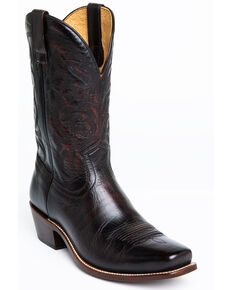 Moonshine Spirit Men's Pickup Western Boots - Narrow Square Toe, Black Cherry, hi-res