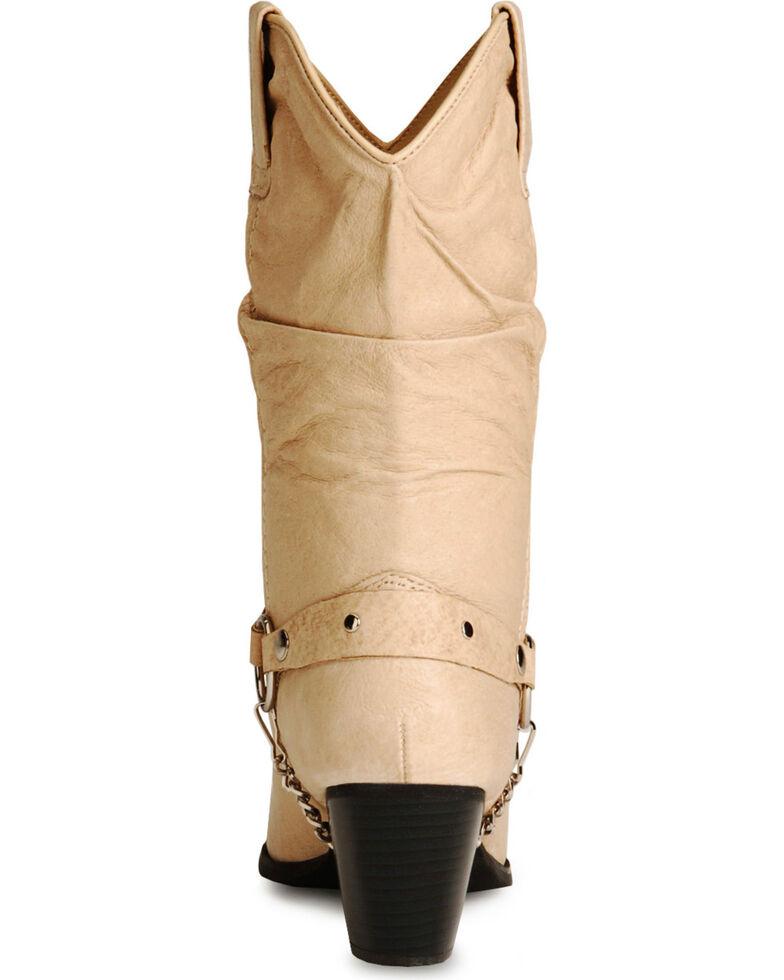 Dingo Supple Pigskin Cowgirl Boots, Tan, hi-res