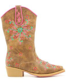 c5d735999ac1 Blazin Roxx Children's Savvy Embroidered Cowgirl Boots - Snip Toe