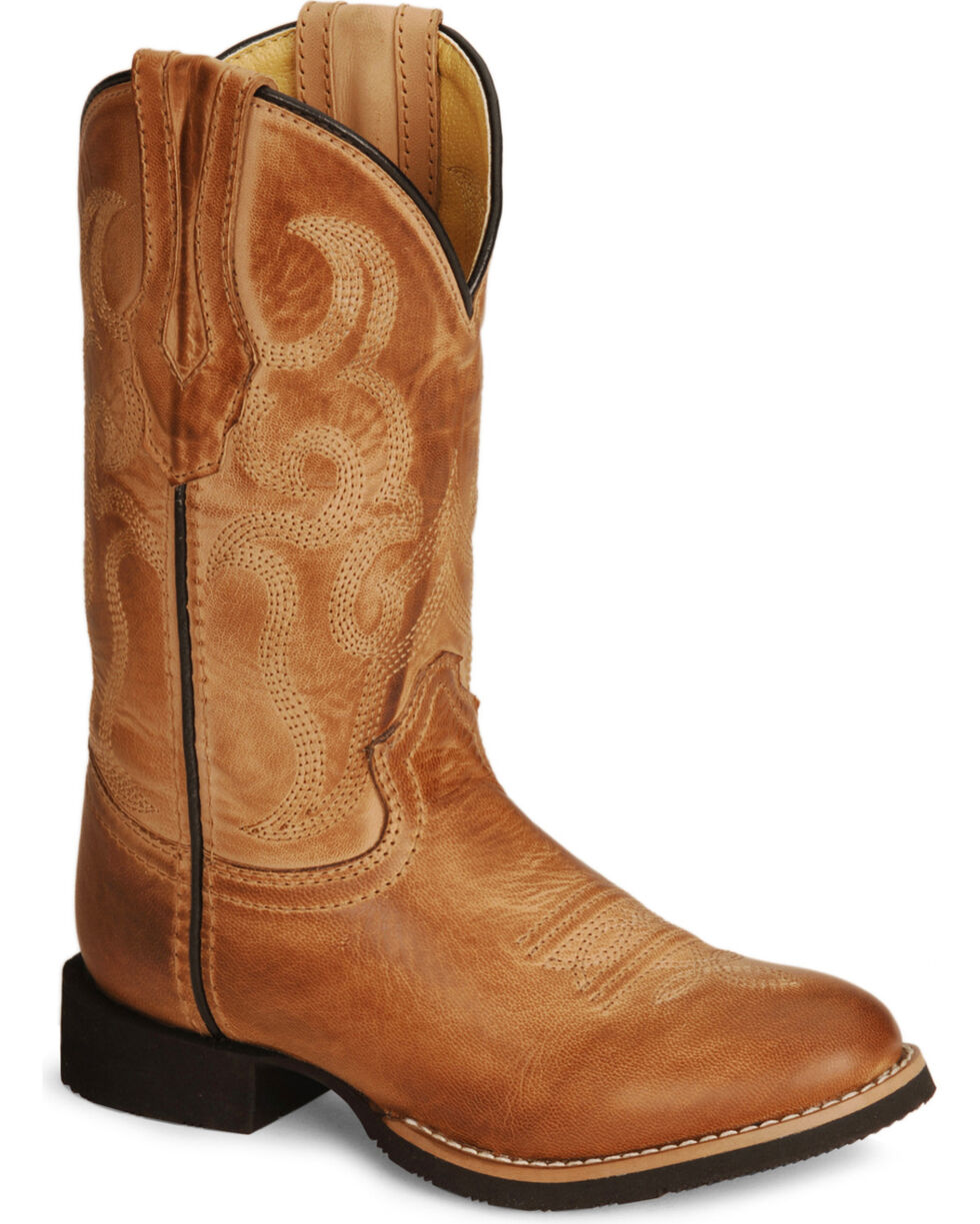 Smoky Mountain Toddlers' Showdown Cowboy Boots, Bomber, hi-res