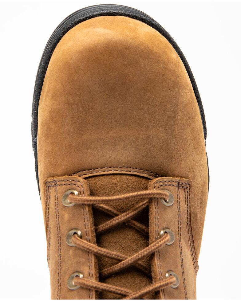 Hawx Men's Enforcer Lace-Up Work Boots - Nano Composite Toe, Brown, hi-res