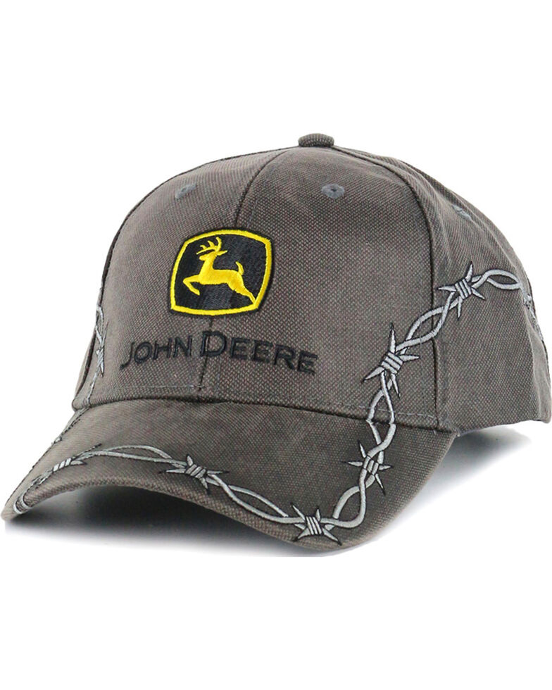 John Deere Men s Barbed Wire Ball Cap - Country Outfitter b43b5182a1d