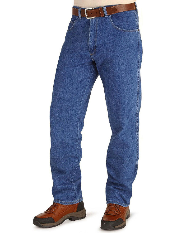 Wrangler jeans - Rugged Wear relaxed fit stretch, Stonewash, hi-res