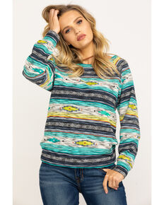 Ariat Women's Sandy Striped Pullover Sweater , Multi, hi-res