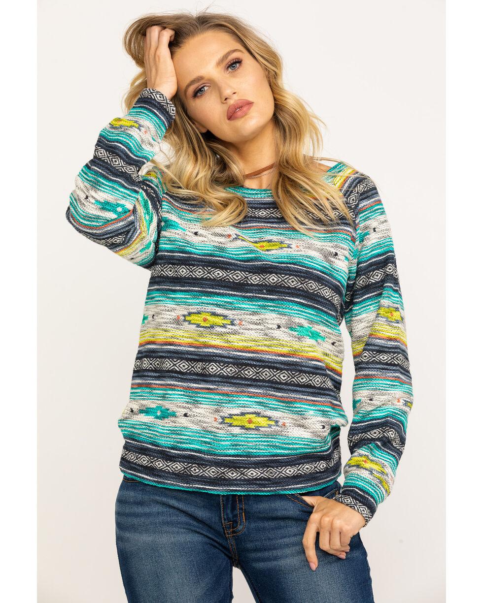 Ariat Women's Sandy Striped Pullover Sweater , Multi, hi-res