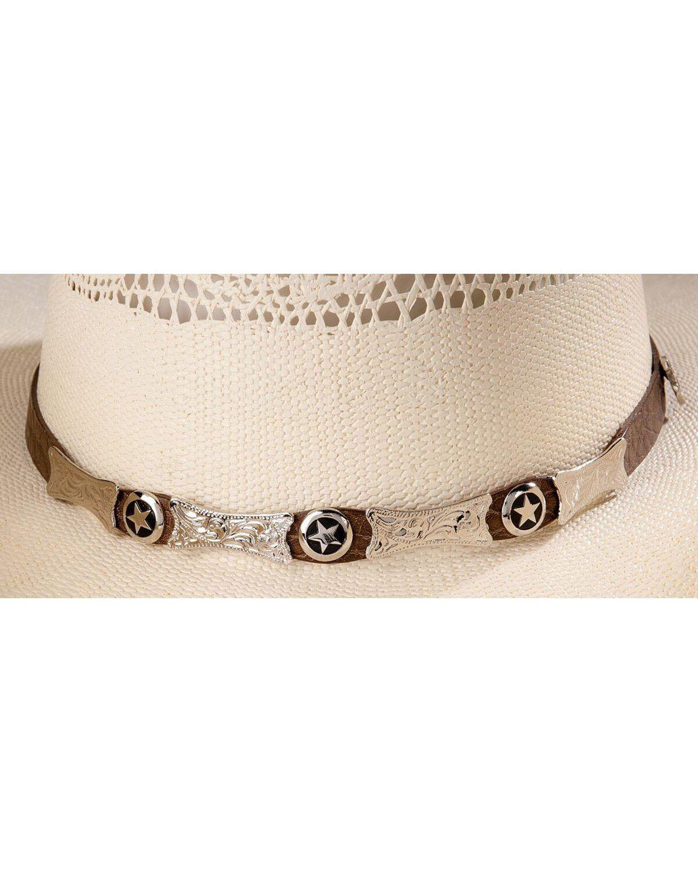 Justin 20X Mesa All Around Straw Cowboy Hat JS1018 MESA