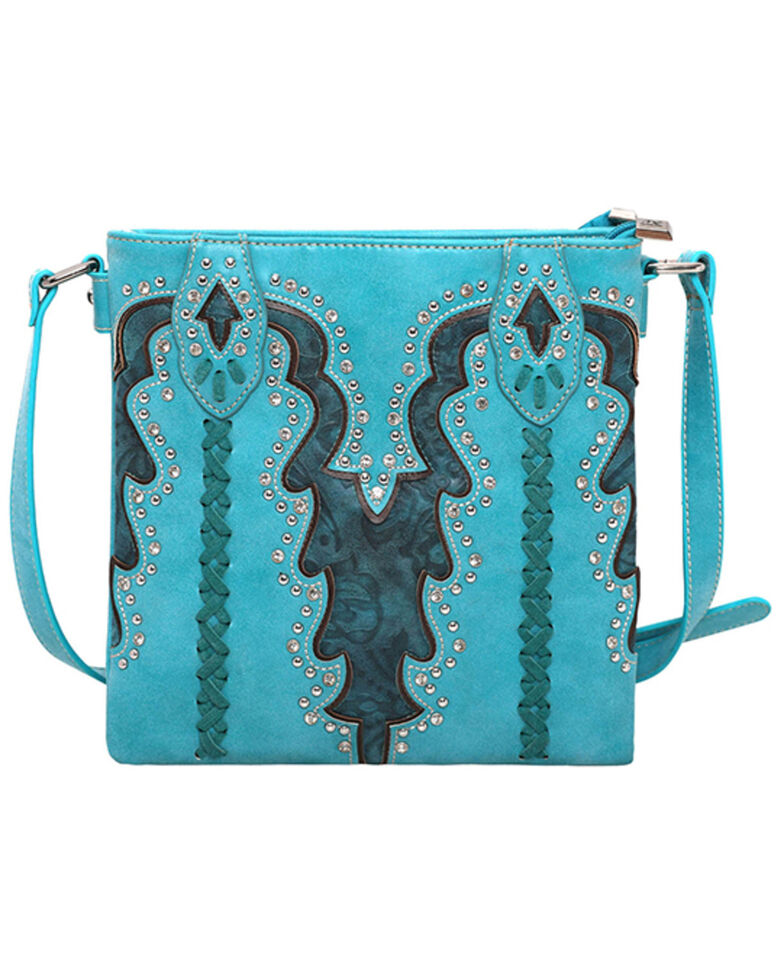 Montana West Women's Boot Scroll Travel Bag, , hi-res