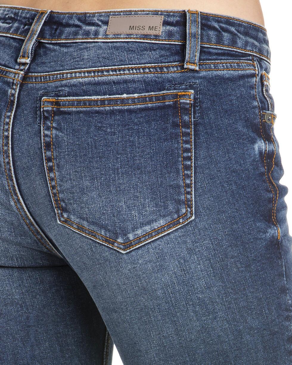 Miss Me Women's Step Down Ankle Skinny Jeans , Indigo, hi-res