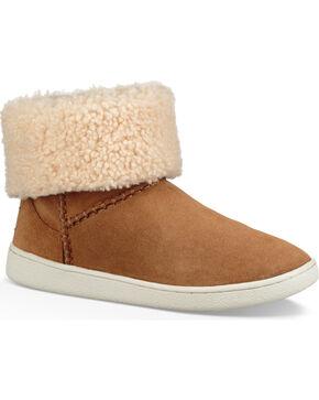 UGG Women's Mika Classic Sneakers, Brown, hi-res