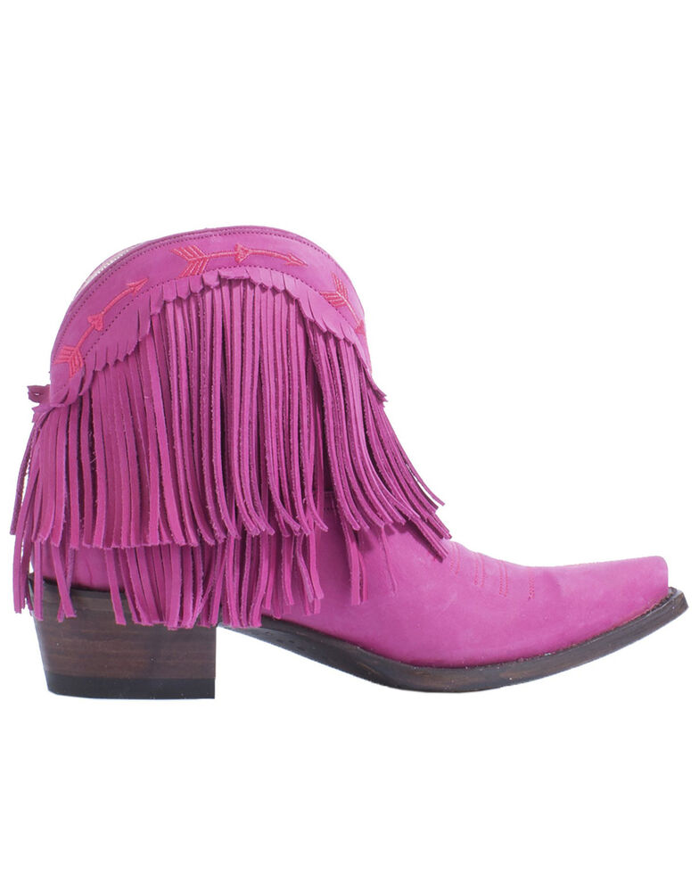 Junk Gypsy by Lane Women's Spitfire Pink Fashion Booties - Snip Toe, Pink, hi-res