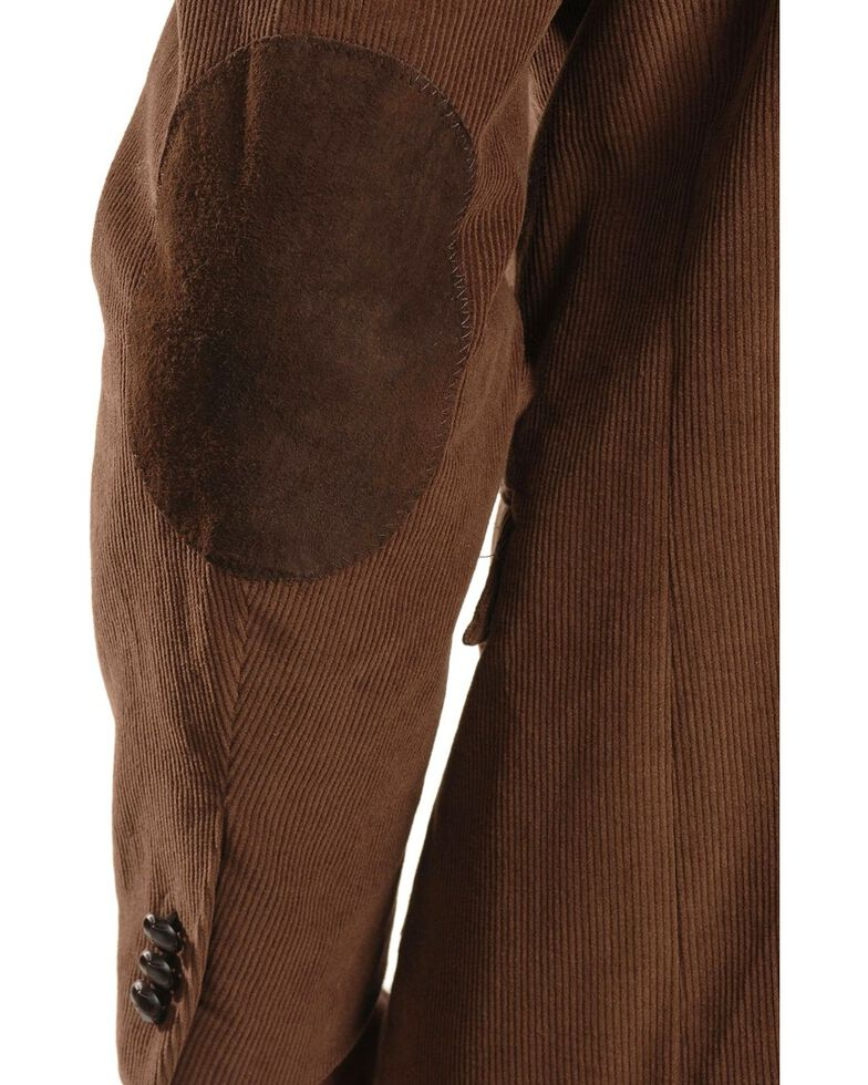 Circle S Corduroy Sport Coat - Short, Reg, Tall, Chestnut, hi-res