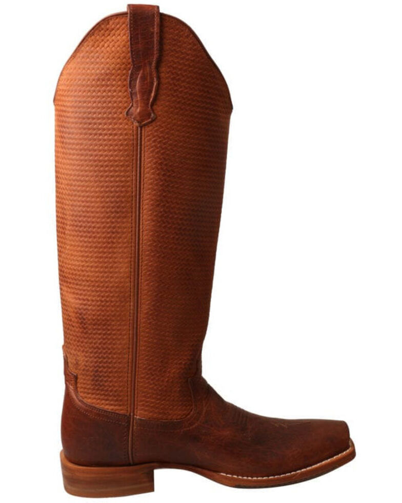 Twisted X Women's Buckaroo Western Boots - Square Toe, Brown, hi-res