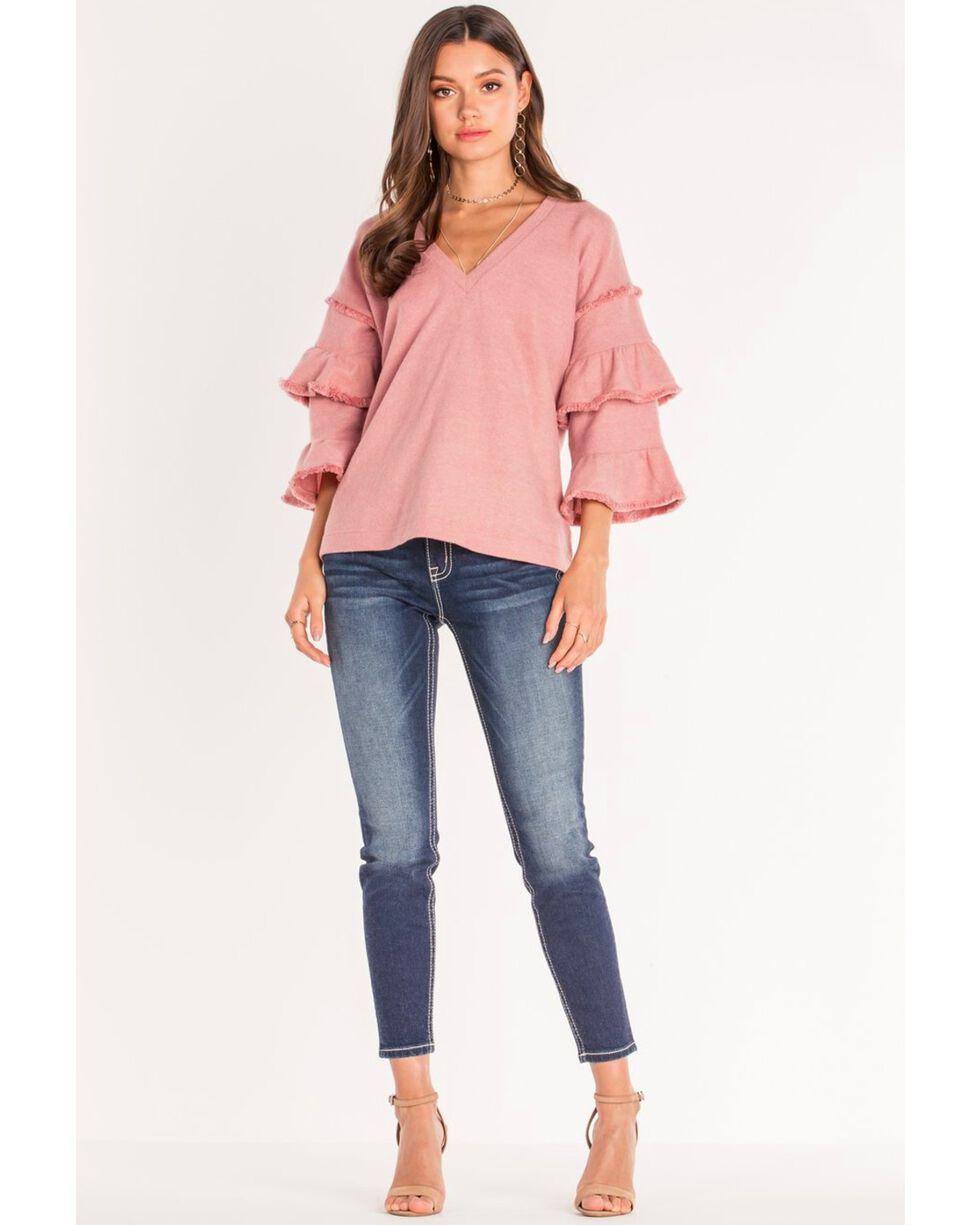 Miss Me Women's Plaid About It Skinny Jeans , Blue, hi-res