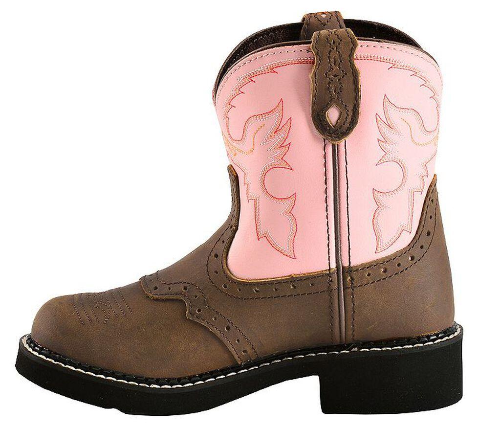 Justin Girls' Bay Apache Pink Gypsy Boots, Bay Apache, hi-res