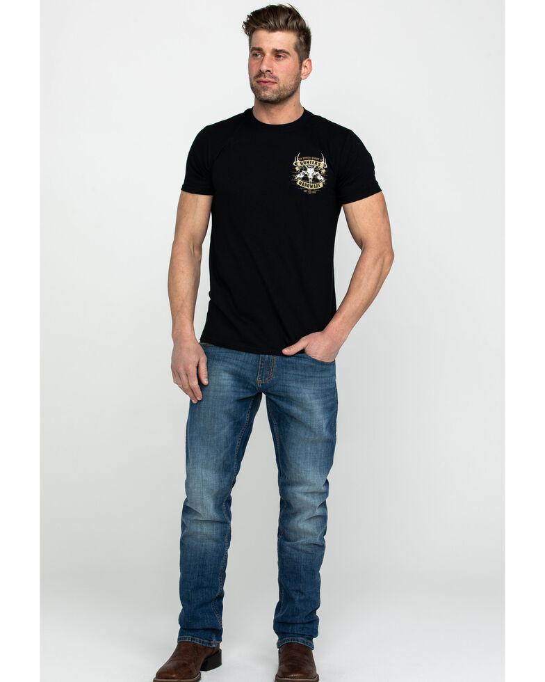 Cowboy Hardware Men's No Bones About It Graphic T-Shirt , Black, hi-res