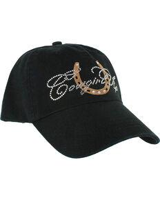 c52329c62a7 Cowgirl Up Women s Rhinestone Ball Cap