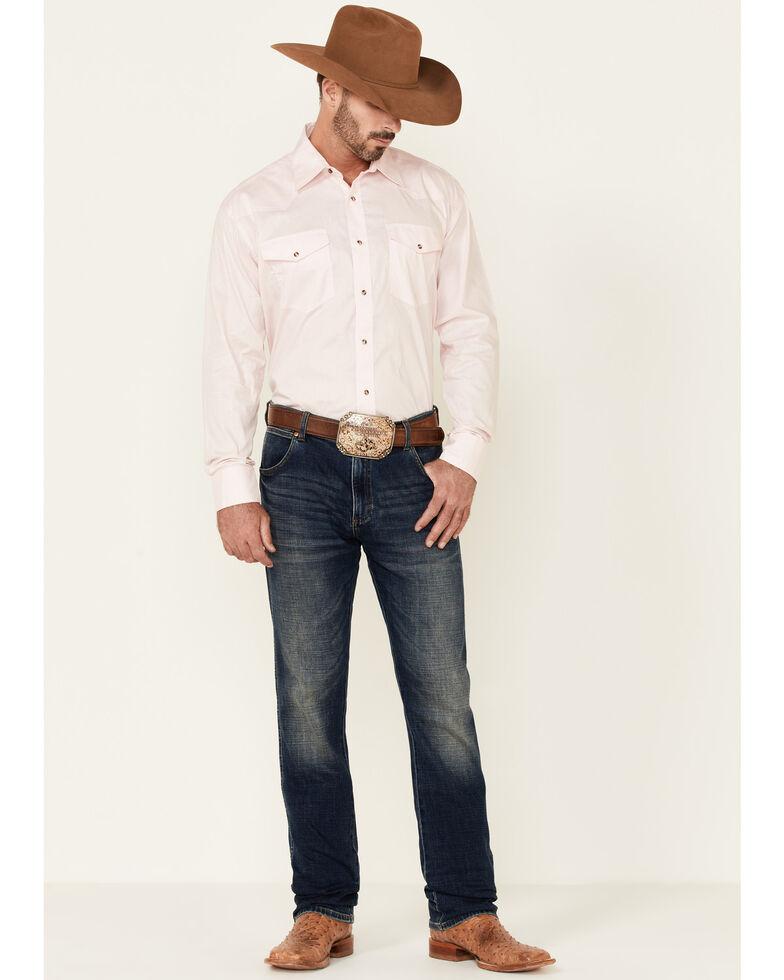 Roper Men's Amarillo Collection Western Shirt, Pink, hi-res