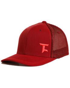 Tuf Cooper Men's Flexfit Ball Cap, Maroon, hi-res