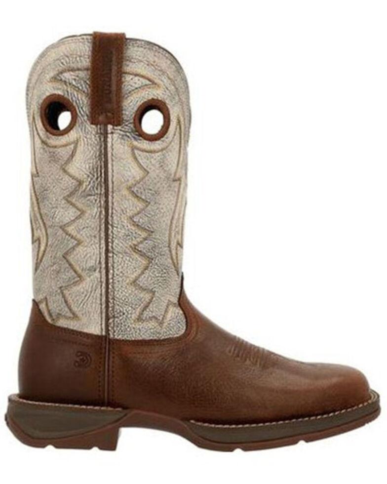 Durango Men's Sorrell Western Work Boots - Soft Toe, Brown, hi-res
