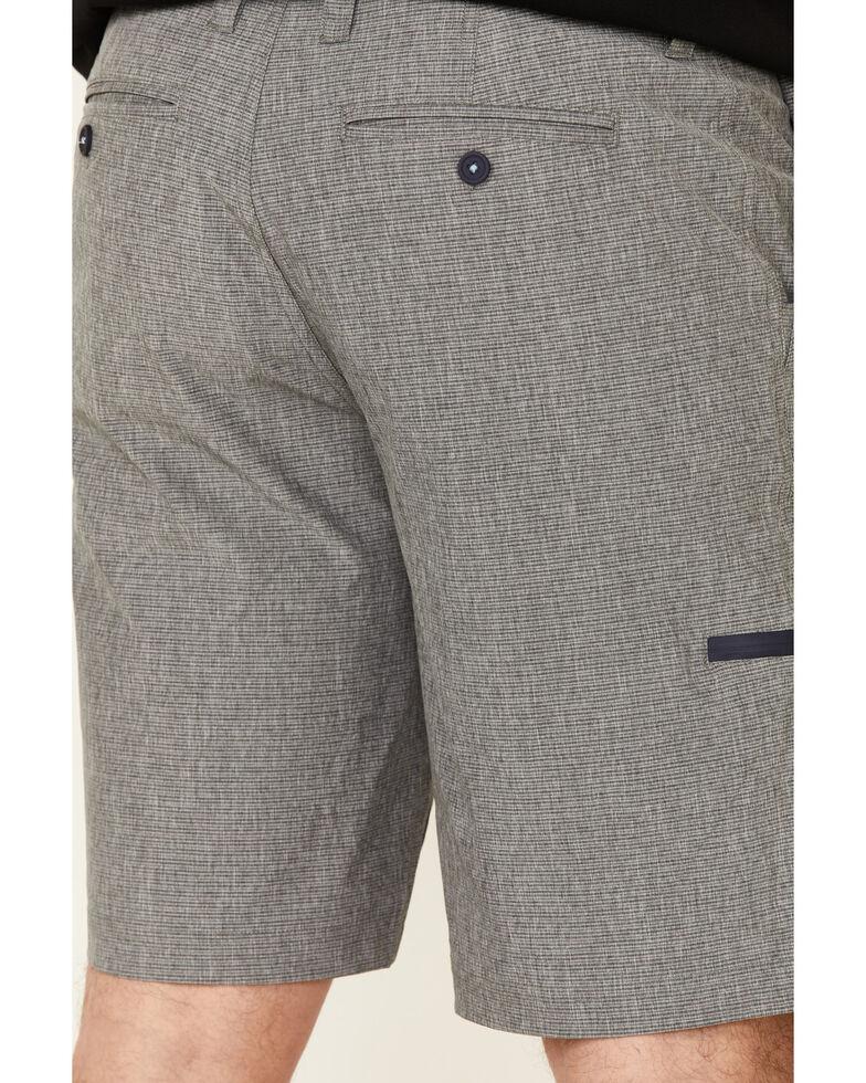 Flag & Anthem Men's Mini Stripe Made Flex Hybrid Shorts , Charcoal, hi-res