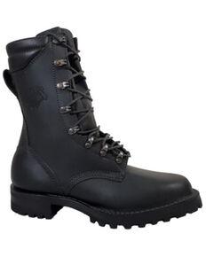 LaCrosse Men's Fire Hybrid Work Boots - Soft Toe, Black, hi-res