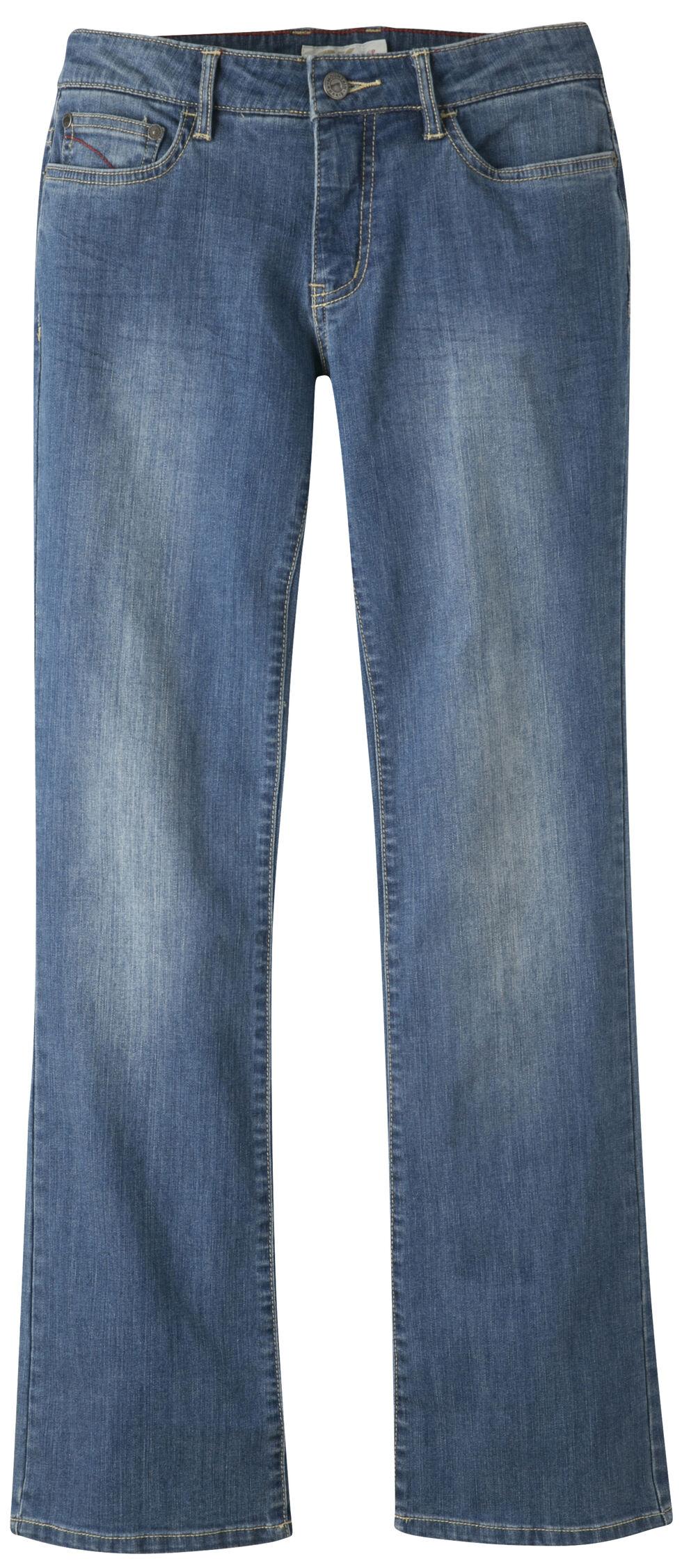 Mountain Khakis Women's Genevieve Boot Cut Jeans - Petite, Blue, hi-res