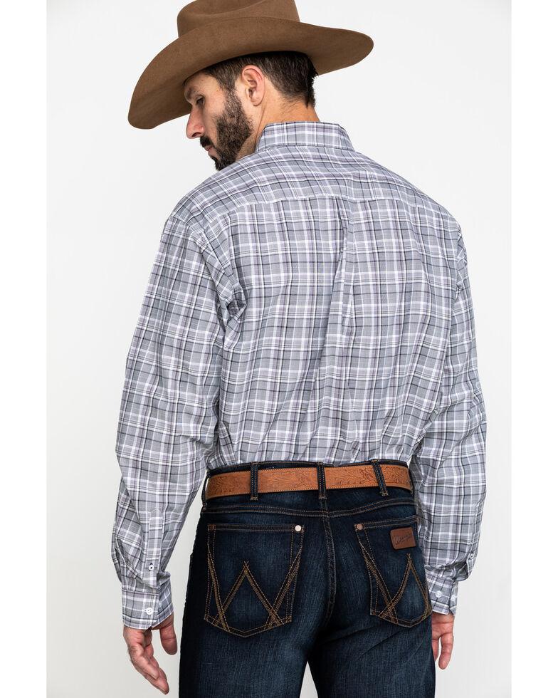 Cinch Men's Multi Med Plaid Plain Weave Long Sleeve Western Shirt , Multi, hi-res