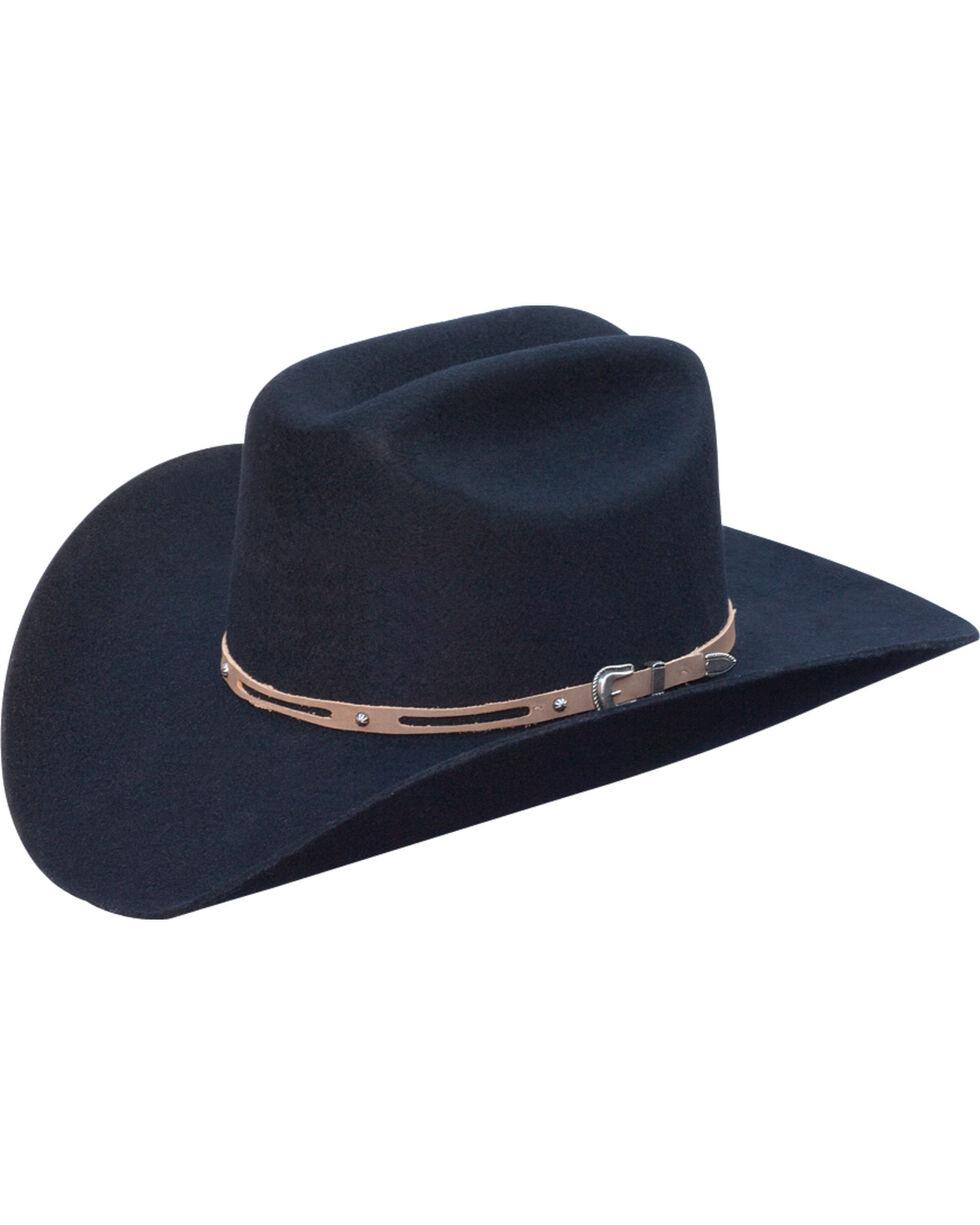 Silverado Men's Holt Wool Felt Cowboy Hat , Black, hi-res