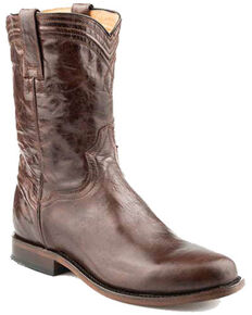 Roper Men's Roderick Brown Western Boots - Round Toe, Brown, hi-res