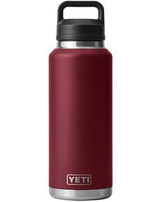 Yeti Rambler 46oz Red Chug Cap Bottle, Red, hi-res