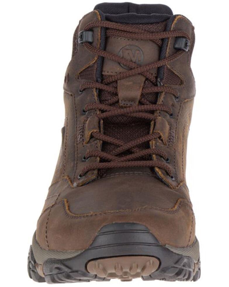 Merrell Men's MOAB Adventure Waterproof Hiking Boots - Soft Toe, Brown, hi-res