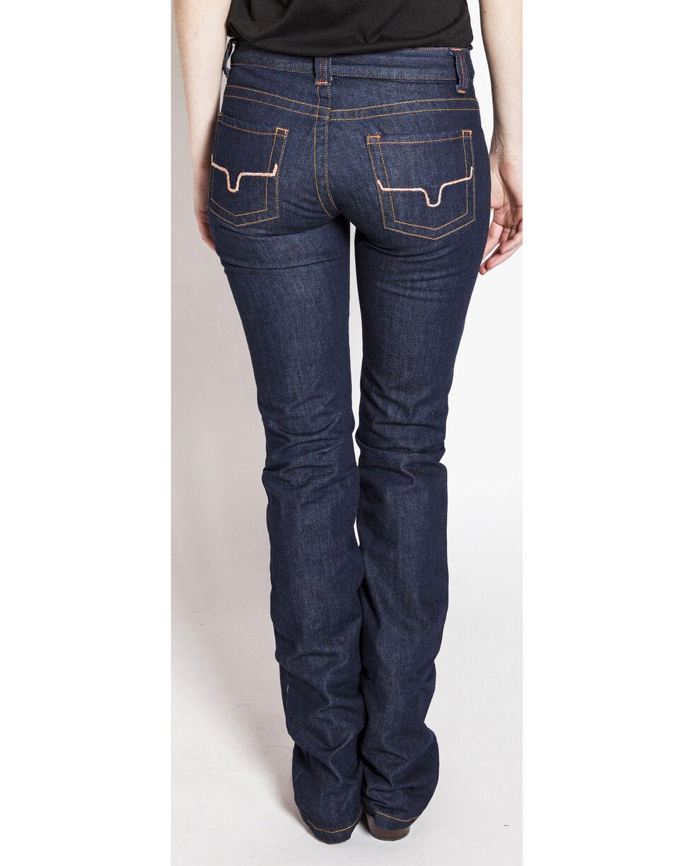 Kimes Ranch Women's Francesca Flare Boot Cut Jeans, Indigo, hi-res