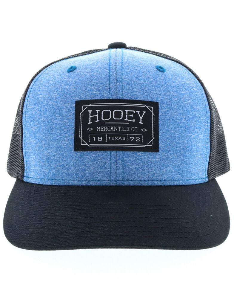 HOOey Women's Doc Patch Trucker Cap, Jet Black, hi-res