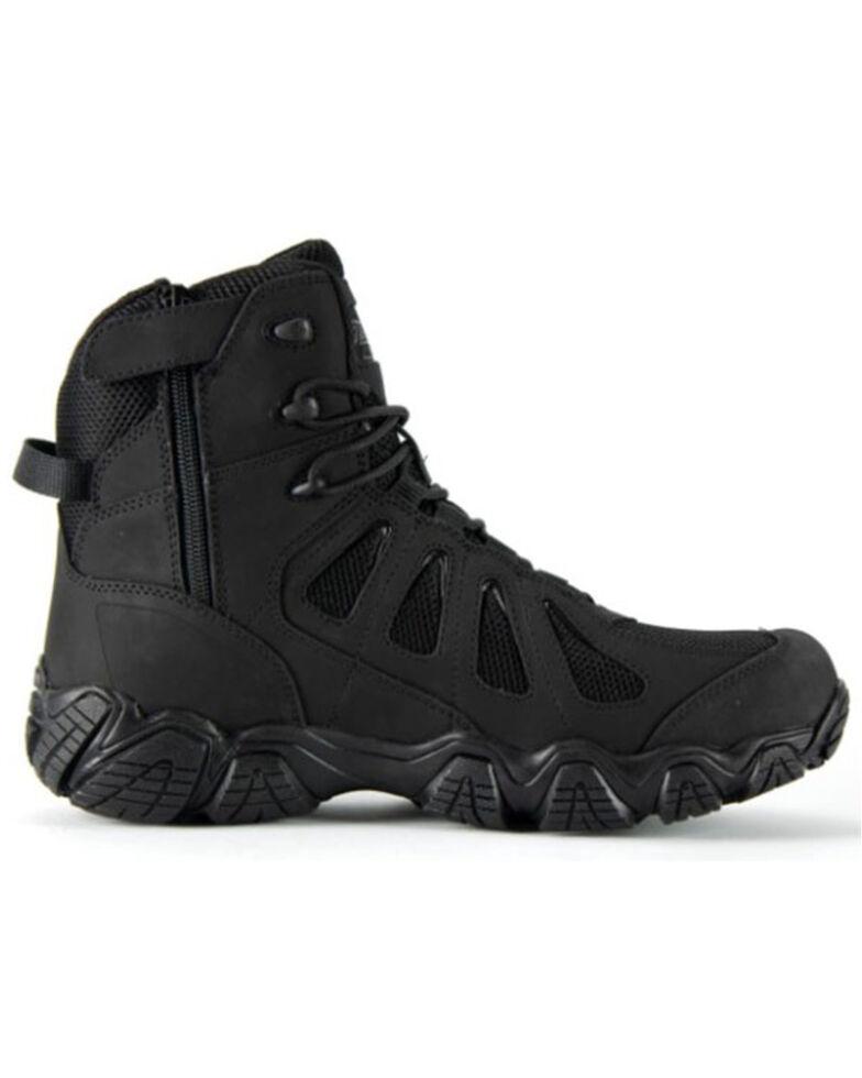 Thorogood Men's Crosstrex Black Pathogen Work Boots - Composite Toe, Black, hi-res