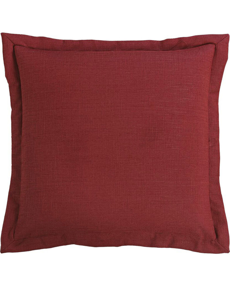 HiEnd Accents Red Euro Sham, Red, hi-res