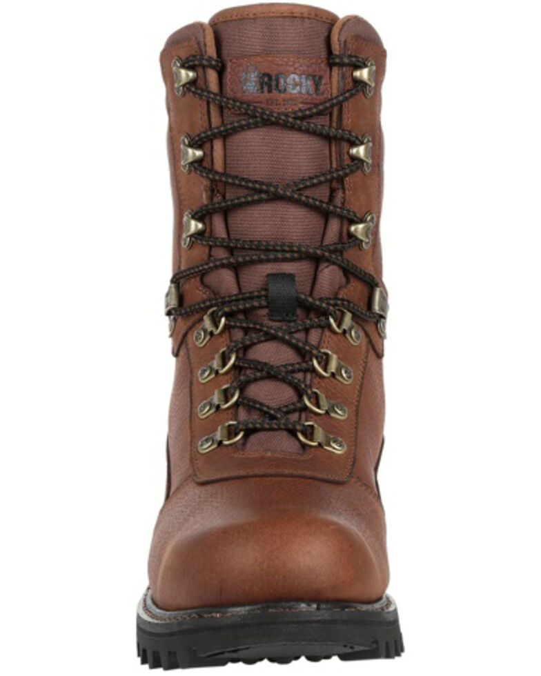Rocky Men's Ranger Waterproof Outdoor Boots - Soft Toe, Brown, hi-res