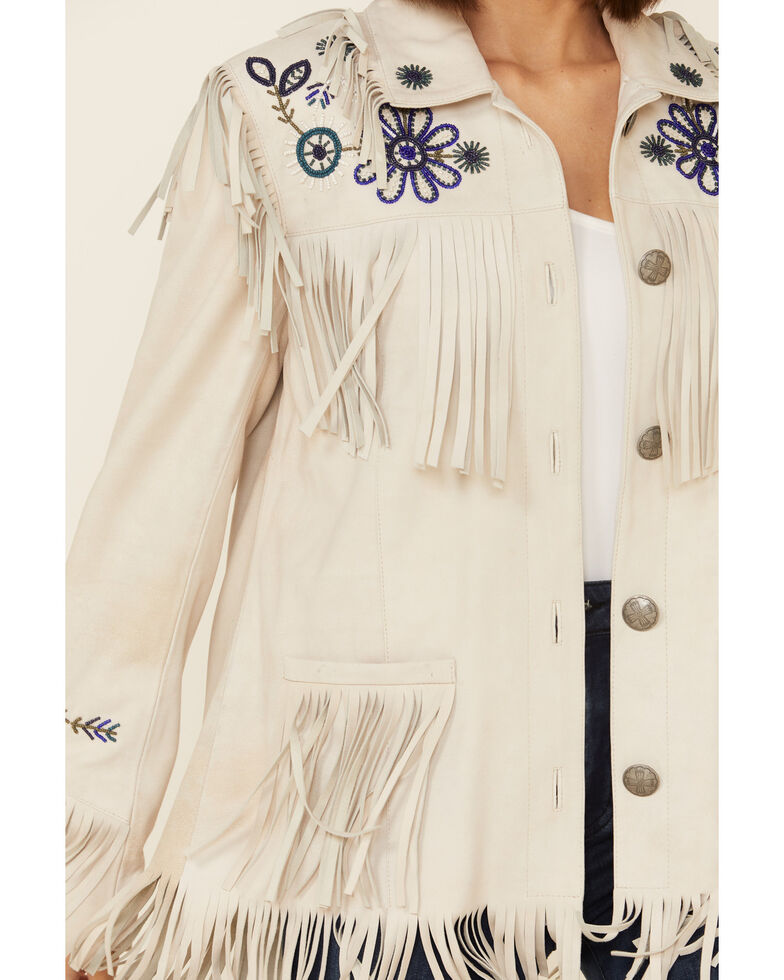 Double D Ranch Women's Tan Dunaway Jacket , Tan, hi-res