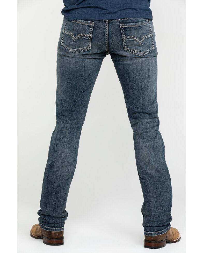 Moonshine Spirit Men's Sterlington Skinny Bootcut Jeans , Indigo, hi-res