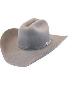Justin Men's Grey 15X Ryder Felt Cowboy Hat , Grey, hi-res