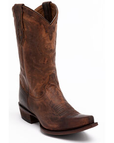 Cody James Men's Whitehall Western Boots - Snip Toe, Brown, hi-res