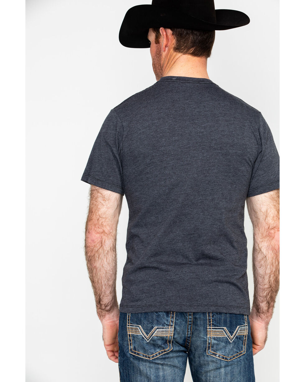 HOOey Men's Mercantile Graphic T-Shirt , Black, hi-res