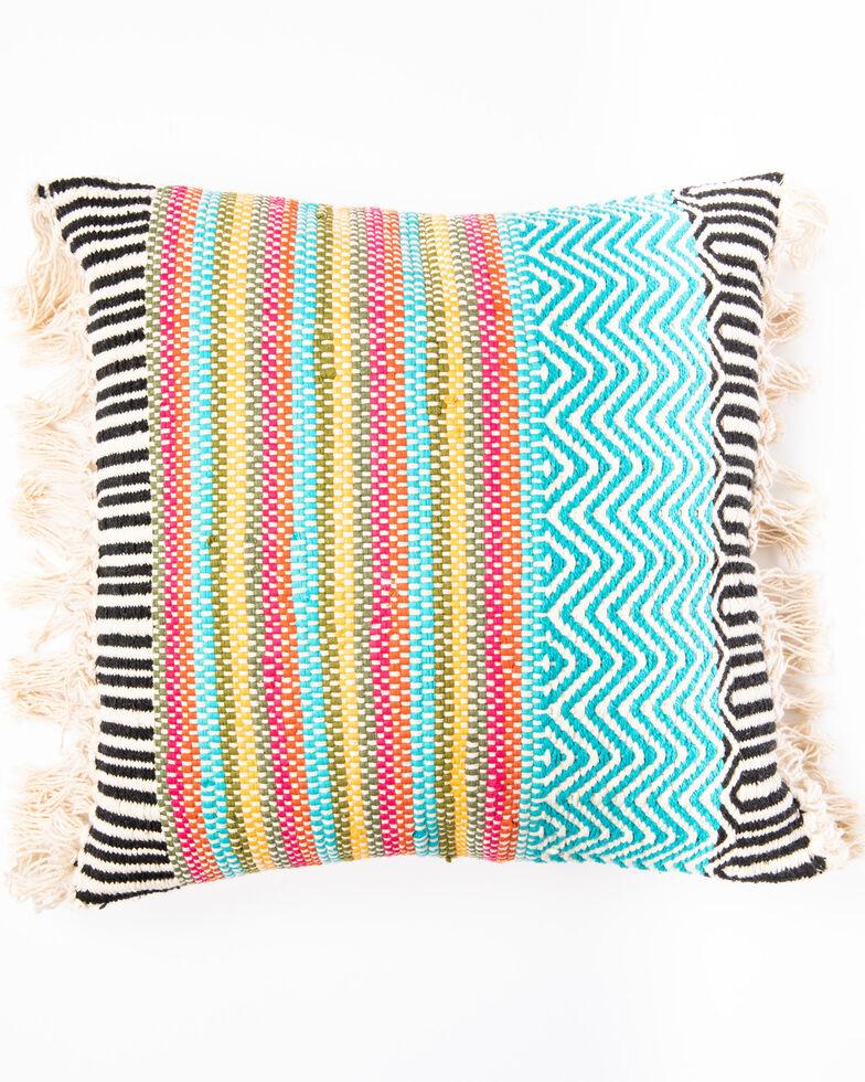 BB Ranch Woven Serape Pillow, Multi, hi-res