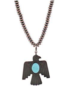 Montana Silversmiths Women's Thunderbird Necklace, No Color, hi-res
