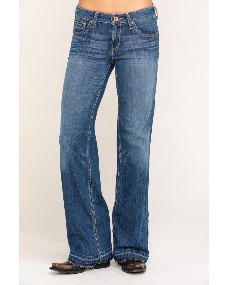 Ariat Women's Medium Talia Trouser , Blue, hi-res
