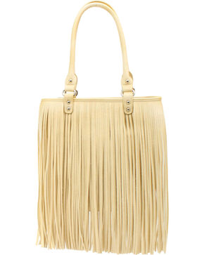Blazin Roxx Fringe Shoulder Bag, Ivory, hi-res
