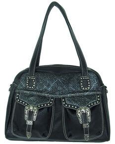 d929d43e4924 Savana Women s Faux Leather Double Pocket Handbag.  64.99. Ryan Michael  Womens Tan Cross Body Leather Bag ...