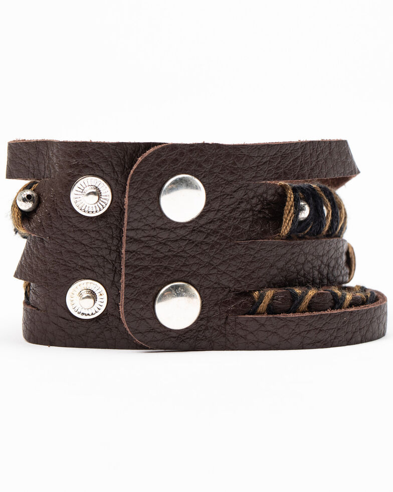 Idyllwind Women's Wild At The Heart Cuff, Brown, hi-res